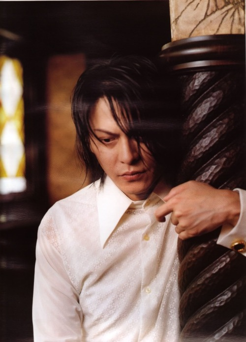 This is a picture that captures Atsushi Sakurai's true spirit.