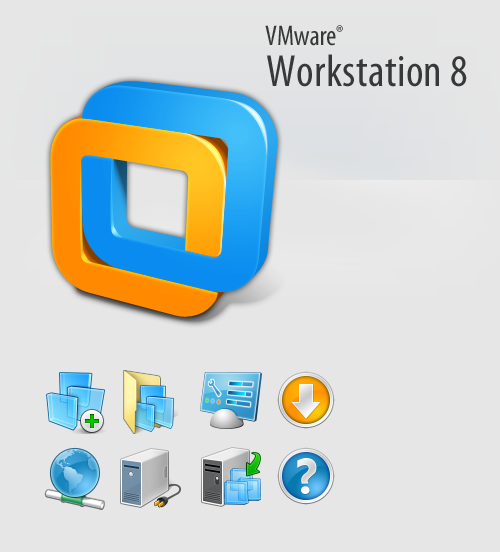 bryanbellportfolio:  Icons I did for VMWARE Workstation 8