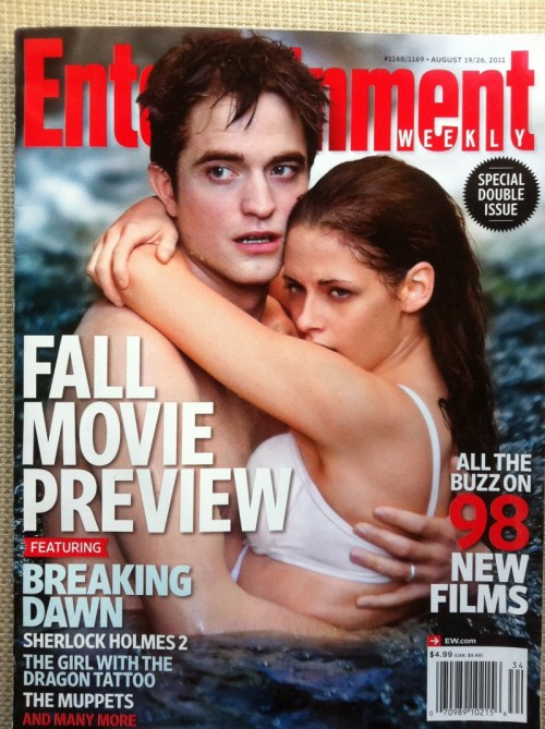 AUCTION FOR @SCHELMY Here is an Entertainment Weekly Magazine donated by LadyFairyPants Click here to bid