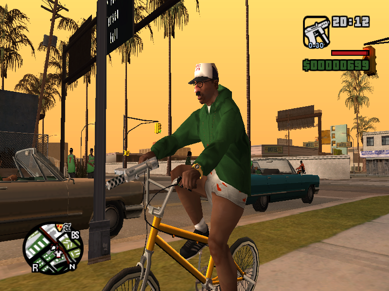Don't mind me yall just playing GTA.