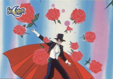 ernestokurls:  I am tuxedo mask!!! Fear my useless rose petals and long introductions!!! <3