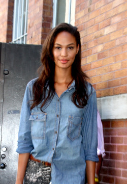 aancora:  Joan Smalls, NYFW