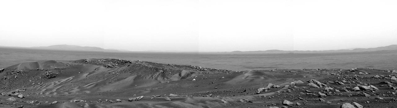 n-a-s-a:  The View from Husband Hill on Mars - The image was taken by the robotic rover Spirit exploring the red planet.