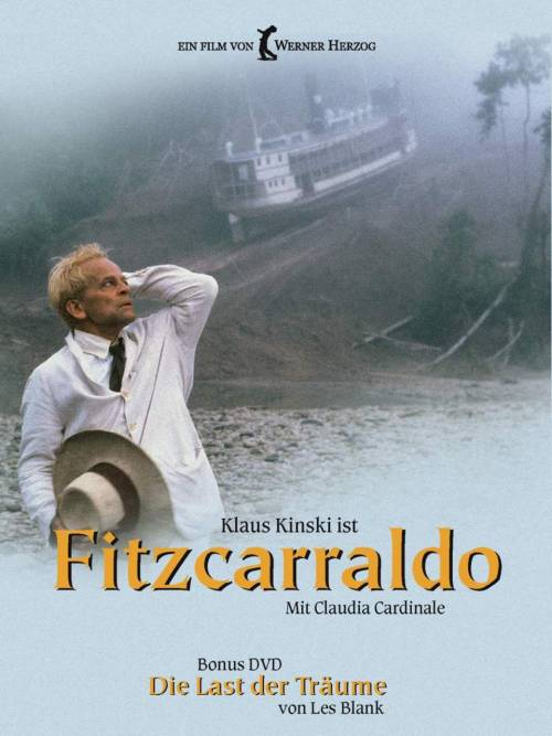 MONDAY AT THE MOVIES!   FITZCARRALDO WERNER HERZOG 1982 •••••