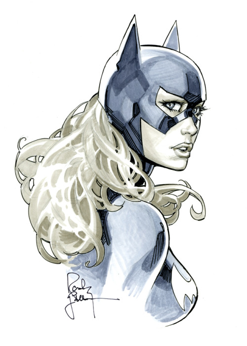 contextisfortheweak:  Batgirl from DandD by *RandyGreen