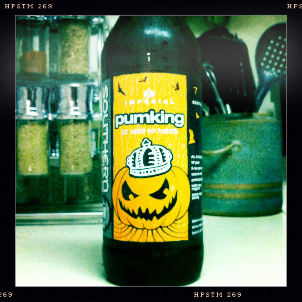 Might as well start off with a bang. Southern Tier Imperial Pumpking Ale. Smell: Like a pumpkin spice candle. No beery smell at all. It smells like fall. Taste: It took me a second to get the pumpkin flavor but once I did, WOW. Very similar to a pumpkin spice muffin. a nice, subtle pumpkin flavor with the spice finishing it out. Final verdict: Awesome. I will definitely be getting more of this.