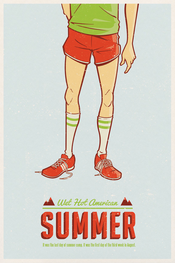 goldenmovieman:  Wet Hot American Summer by Adam Limbert