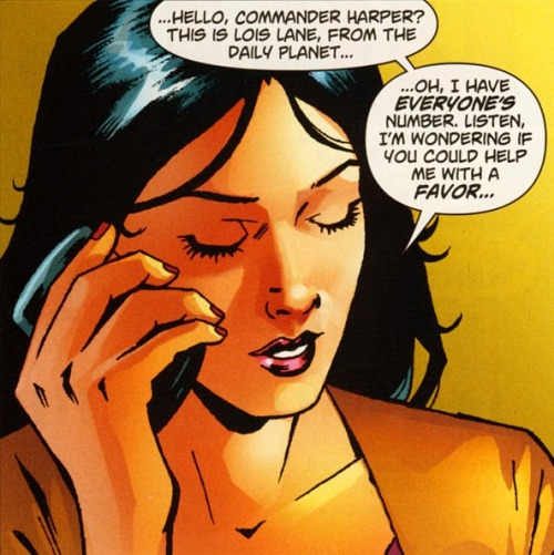 Lois Lane Panel of the Day: ~Action Comics #878