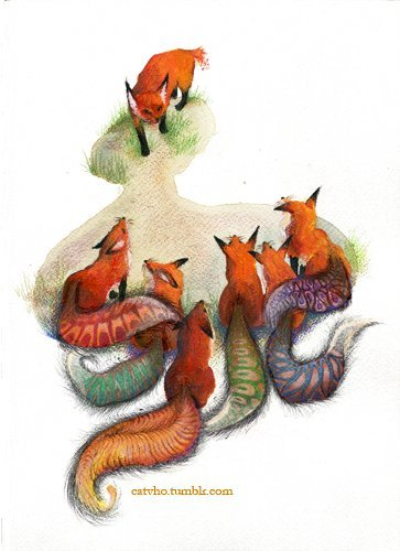 "catvho:  reinterpretation of aesop's fable ""fox and his tail"" part 1"