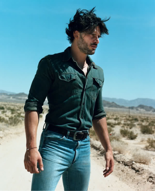 jakeprescott:  Joe Manganiello by: Jack Pierson | GQ Style UK  Alcid. Always choose PACK. <3
