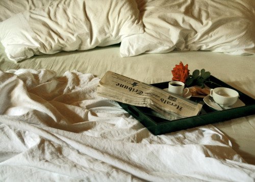 lacewings:  Mmm, breakfast in bed (via)