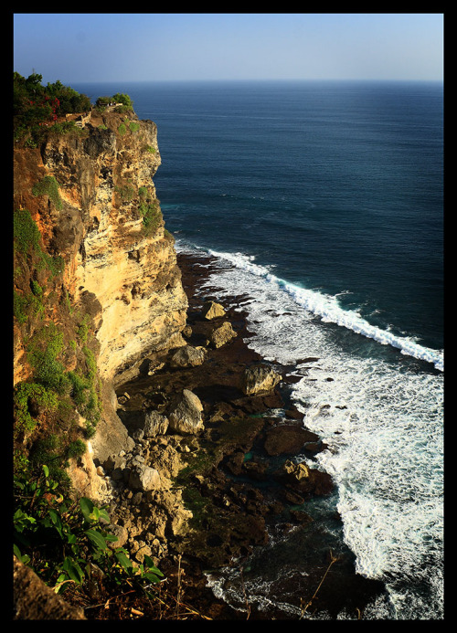 Uluwatu beach, a stunning scenery from uluwatu temple