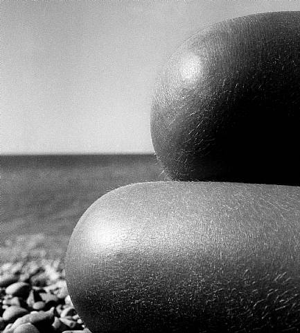 Bill Brandt Nude, Baie des Anges, France 1959