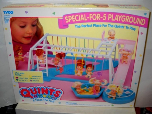 omg,why was i so in love with this toy?! i had the quints and their triplet cousins,hahaha.