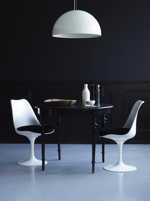 pop-deco:  black + white