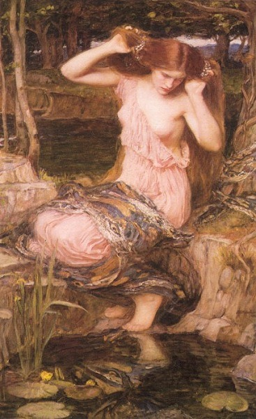 John William Waterhouse, Lamia, 1909