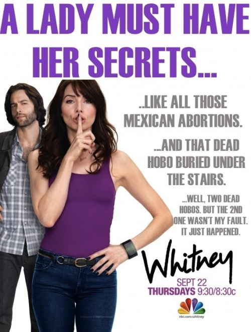 "Rejected NBC's ""Whitney"" Ad #8"