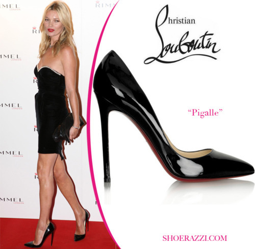 Kate Moss in Christian Louboutin