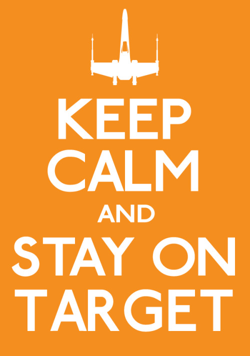 Keep Calm and Stay on Target - by Marcus Bass (Created & submitted by errrskate151)