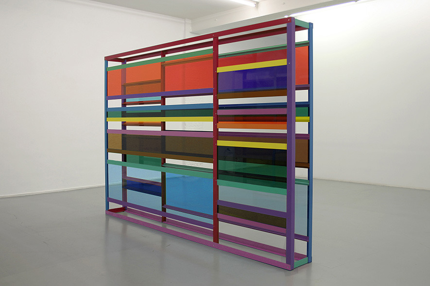 Sculpture by Liam Gillick. (via julienfoulatier)