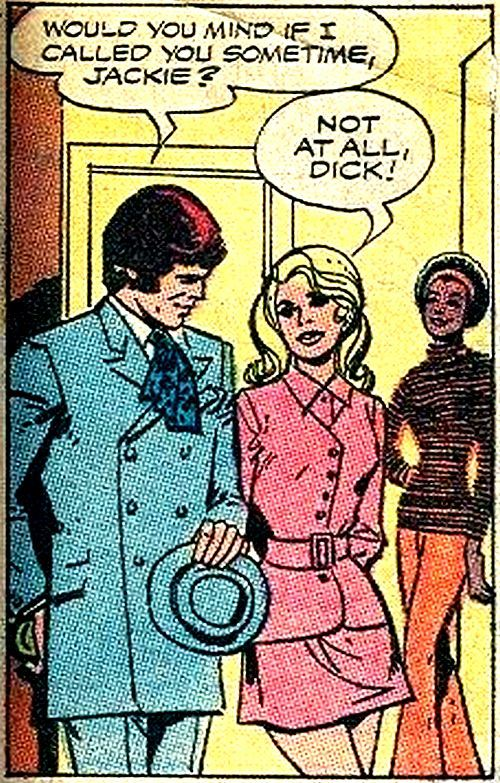comicallyvintage:  The girls love it when Dick calls.