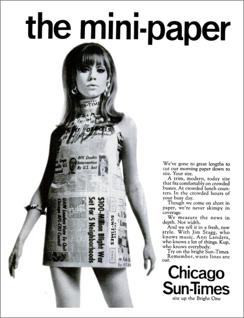 thecarnabetianarmy:  Paper Dress, 1967 (Mewdeep)