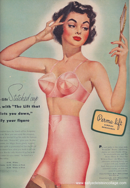 "judywald:  Described in advertisement as ""fabulously dainty."" 1951"