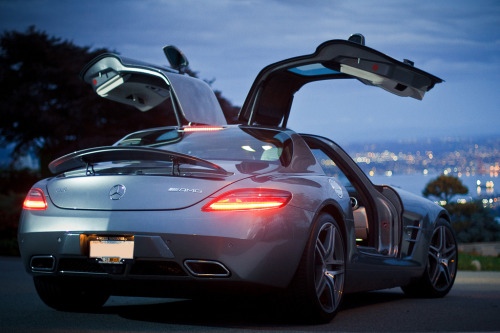 I'm not over those Gullwing Doors.