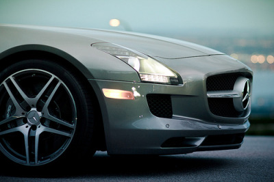 automotivated:  SLS AMG (by mike pan)