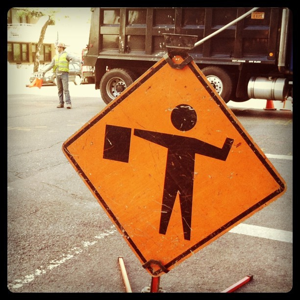 This is an accurate road sign (Taken with instagram)