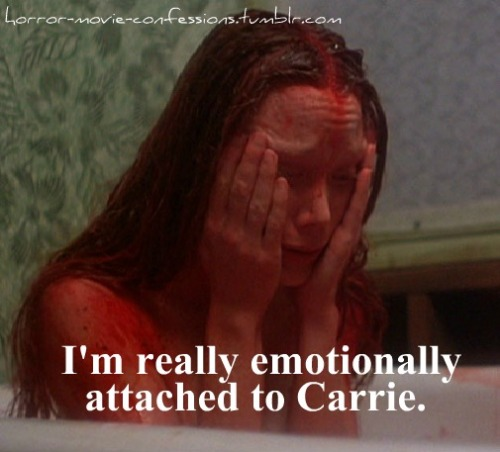 """I'm really emotionally attached to Carrie."""