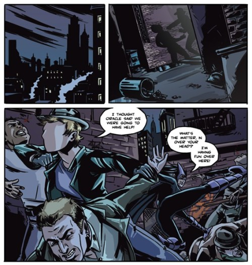 comicbooksawesome:  fuckyeahgothamslash:  It's ready! Tattered Remains, a web-based fan-comic written by me, drawn and coloured by the fabulous Krystal Beisick.  Renee Montoya returns to Gotham City and finds herself knee-deep in ghosts from her past.  Will she finally start dealing with everything she left behind, or will she continue to run?  Click here to read the comic!  I drew this! Thank you Val for writing this and working with me on it. I hope everyone enjoys it!  This is EXACTLY what I needed in my life You two are doing a fantastic job and I can't wait for more