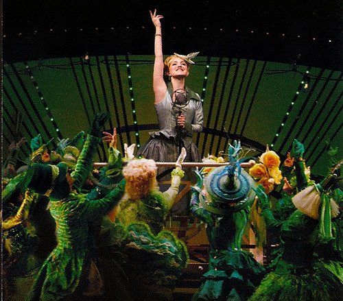 livelikeurdyingg:  Annaleigh Ashford as Glinda Wicked Broadway 2008 Wicked Chicago 2008-2009