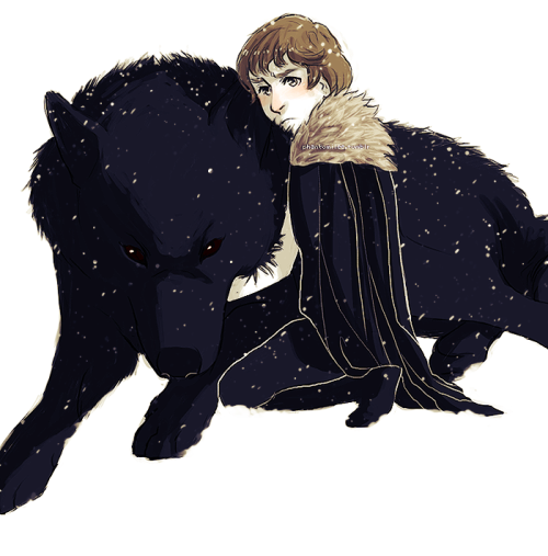 "phantomilee:    ""I told him,"" Bran said. ""He  says no one ever comes back.""  I feel bad for Rickon and Shaggydog, no one never remembers them :("