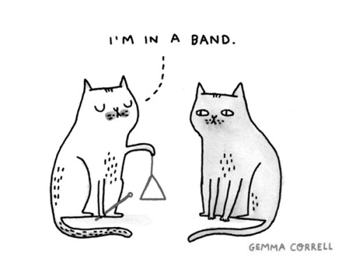 magicfran:  in a band by gemma correll on Flickr.