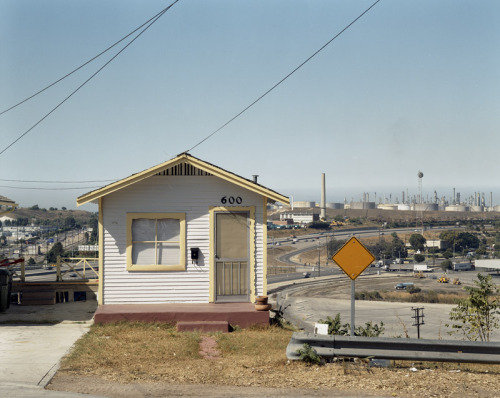 600 Shields Drive, San Pedro; September 12, 1992 – John Humble (American, b.1944) And today. A cropped version of this image was used as the album art for This World is Not My Home by Lone Justice.