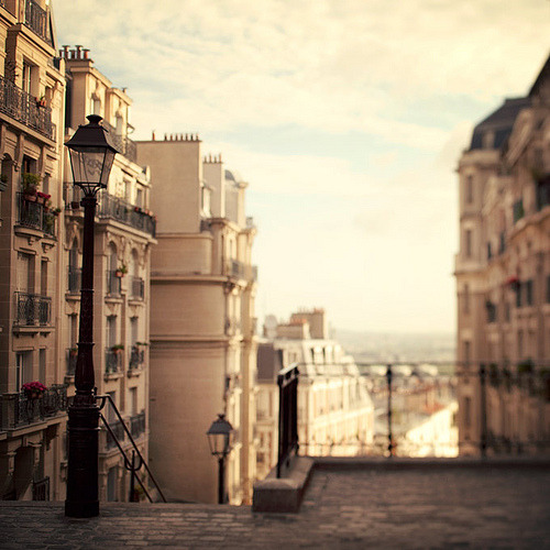 allthingseurope:  View of Montmartre, Paris (by IrenaS)