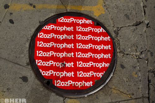 Anyone wanna buy a @12ozprophet manhole?