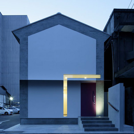 'Keyhole House' Japanese architects EASTERN Design Office tend to design houses with unconventional windows. Here's their latest one in Kyoto.