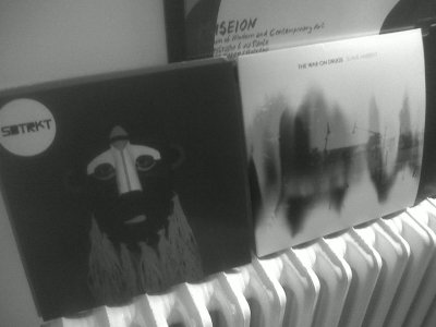 Yay, I now have two of my favourite albums of the year, SBTRKT and The War on Drugs, on vinyl. Awesome.