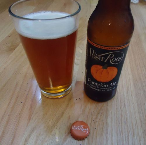 Post Road Pumpkin Ale Alright, folks, 'tis the season for throwing pumpkin flavor into everything, and that includes our favorite bubbly beverage. If you'd prefer your pumpkin-infused beer to be less on the spice-filled side and more on the simple, velvety side, Post Road has got your back. Seriously, this beer tastes like autumn incarnate, without that over-spiced taste. I mean, nutmeg's great and all, but this particular ale is like drinking a velvety pumpkin pie.  Best time to drink: Right now. Seriously, find some right fucking now.