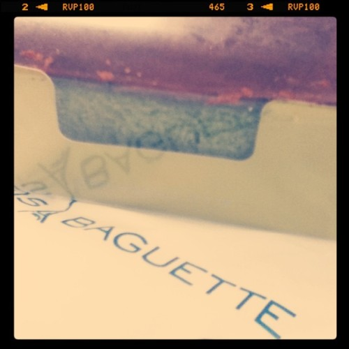 Paris Baguette Green Tea Bon Delicieux (Taken with instagram)