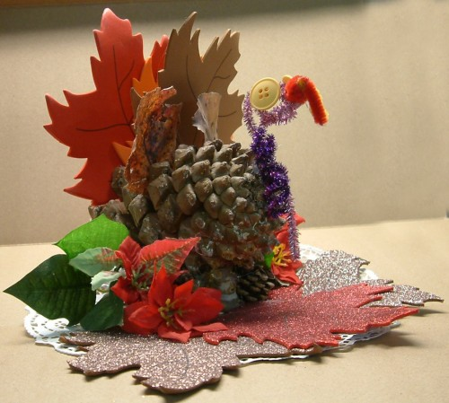 musicalwriter:  Do you want a really cool Thanksgiving centerpiece to show off to your friends? Yes? Well, then go visit Denyer Designs' Etsy page, or click-through the photo, to find this amazing hand made, Thanksgiving item you will love.    THANK YOU!