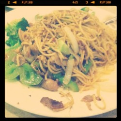 Chang's Mongolian Grill. Sooo good.  (Taken with instagram)
