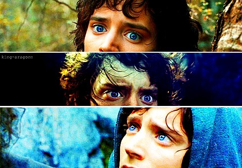 frodo's eyes.  legendary
