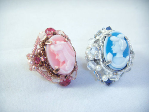 disneyymerch:  Japanese Cinderella and Aurora Rings $20.00 EACH