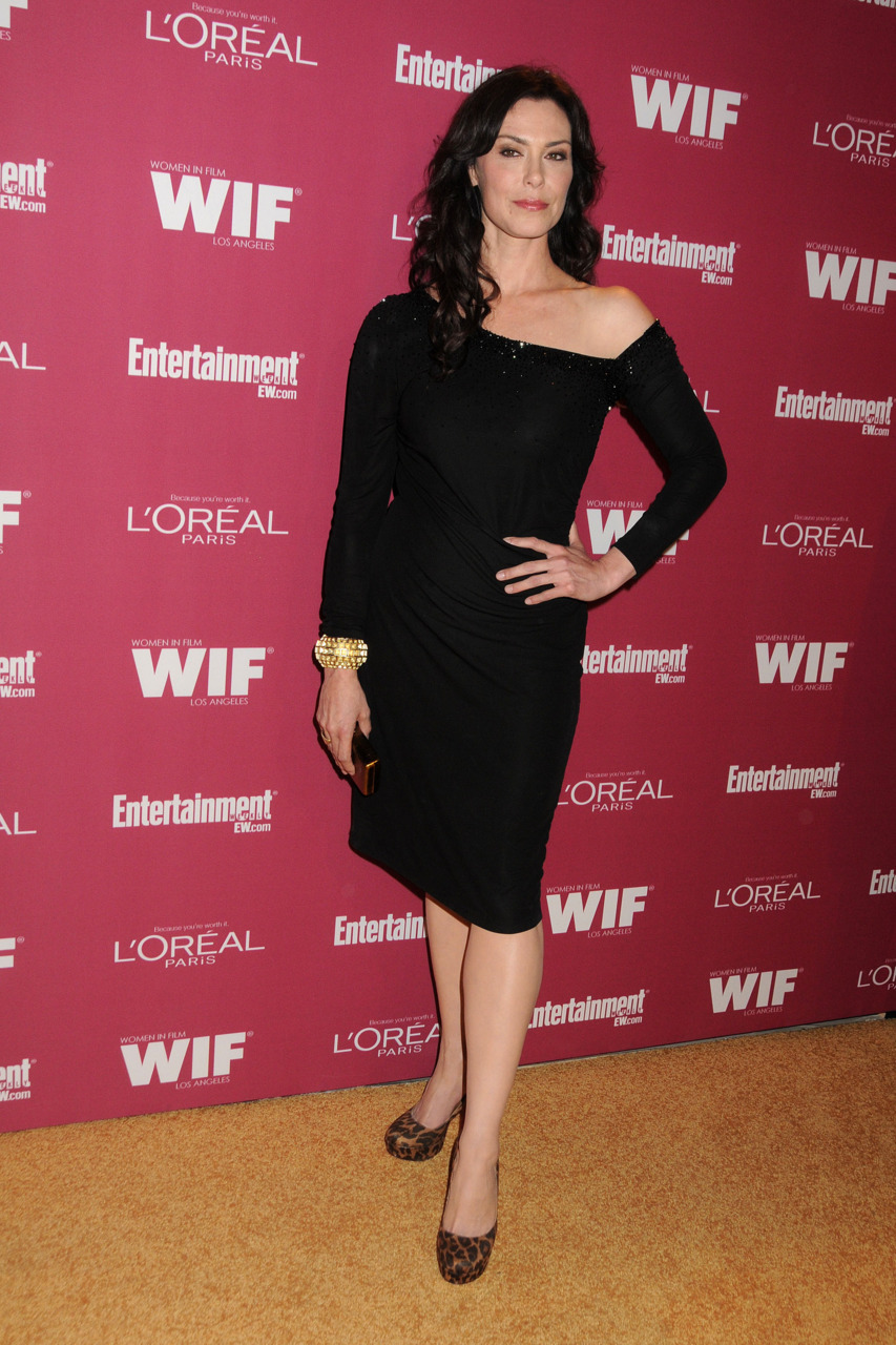 Michelle Forbes at the EW & Women in Film Pre-Emmy party yesterday Fierce.  Bitch.  Worship thee.