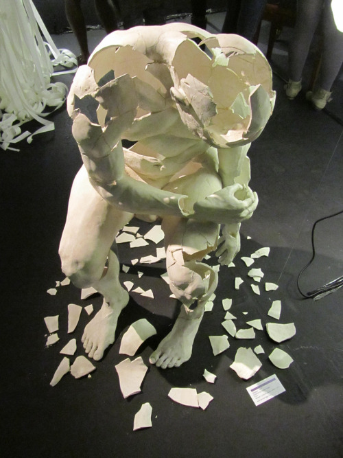 tianteeeeeee:  thedeity:  Museum of Broken Relationships, Zagreb, Croatia  What a beautiful sculpture