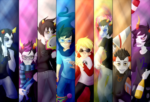 Also not a chibi, but definitely still Homestuck.