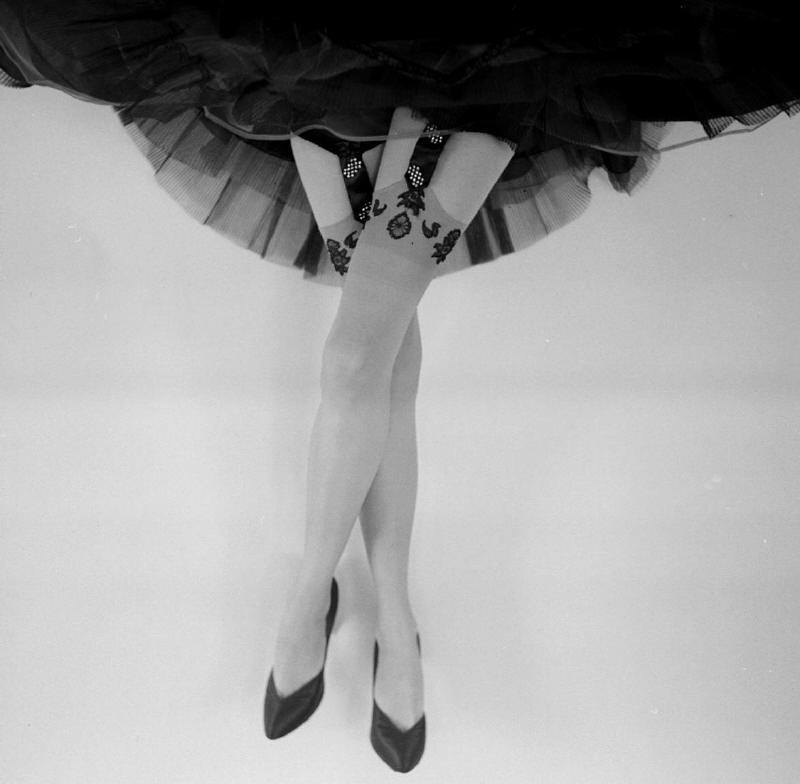 theniftyfifties:  Fancy garters photographed by Gordon Parks, 1950s.